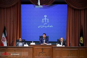 عکس/ پنجمین دادگاه اتهامات دختر وزیر سابق