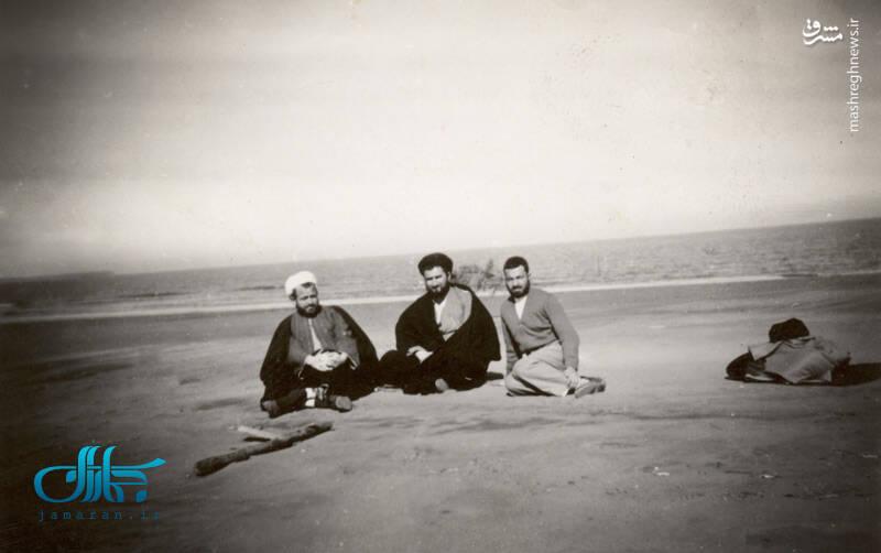تصاویری از فرزند ارشد امام خمینی(ره) پیش از شهادت