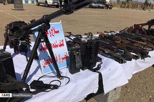 عکس/ سلاحهای قاچاقچیان در مرزهای شرقی