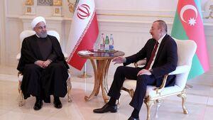 روحانی و رئیس جمهور آذربایجان