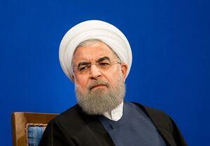 فیلم/ واکنش روحانی به شعارهای معترضان