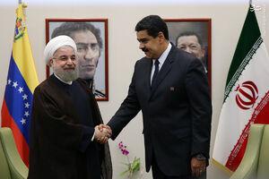 دیدار روحانی با رئیس جمهور ونزوئلا