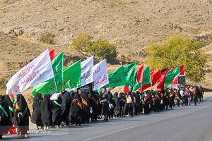 پیاده روی زائران امام رضا(ع) به سمت مشهد