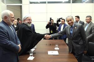 عکس/ دیدار های روحانی در باکو