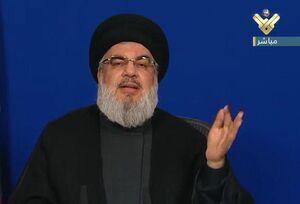 رایزنی رئیس جریان ملی آزاد لبنان با سید حسن نصرالله