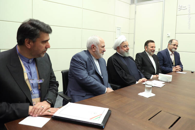 روحانی در دیدار نخست وزیر مالزی