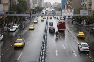 بارش رحمت الهی در تهران