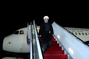 بازگشت رئیس جمهور به تهران
