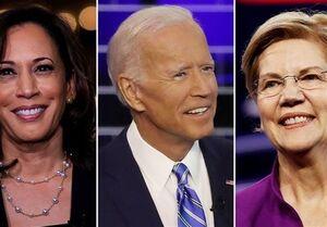 """""""وارن و بایدن"""" نامزدهای پیشتاز دموکراتها برای انتخابات ۲۰۲۰"""