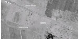 عکس ماهوارهای روسیه از قاچاق نفت سوریه تحت حفاظت ارتش آمریکا