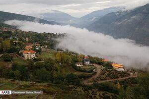 عکس/ مِه در ارتفاعات چالوس
