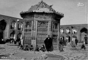 تصاویر قدیمی از سقاخانه حرم امام رضا