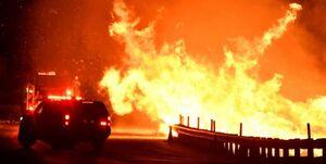 جهنم سیار آمریکا را رها نمیکند! +عکس