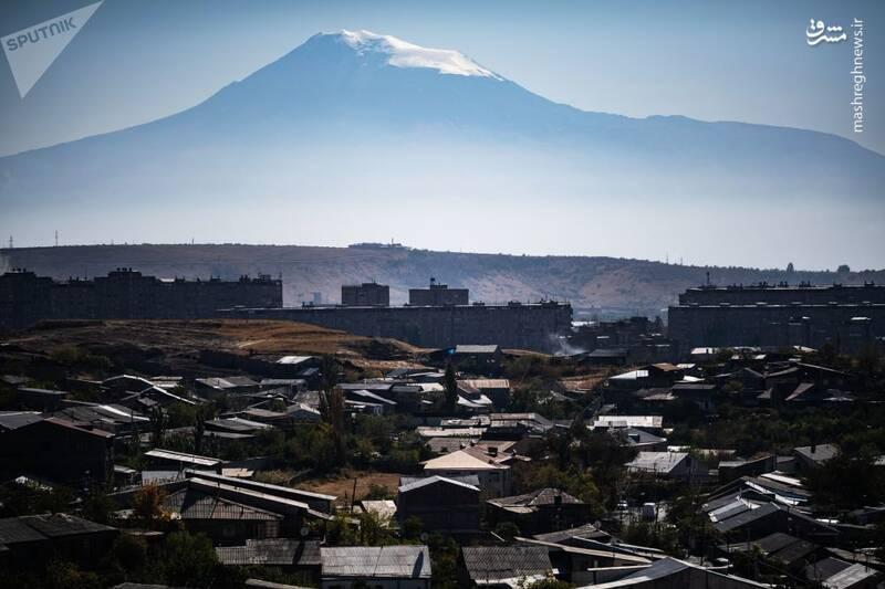 کوه آرارات در ایروان