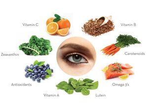 خوراکیهای مفید برای چشم