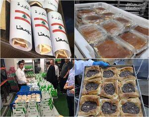 حمایت ریاض و ابوظبی از معترضان لبنانی +عکس