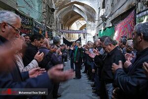 عکس/ عزاداری ۲۸ صفر در بازار اصفهان