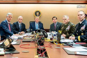 عکس منتشر شده از اتاق عملیات البغدادی جعلی است!