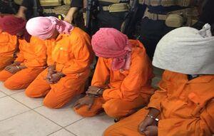 بازداشت عوامل مرتبط با داعش در میان معترضان عراقی +عکس