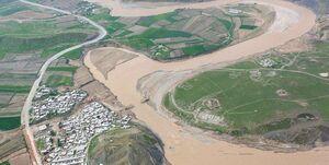 سیلاب در پلدختر راه ارتباطی ۸۰۰ خانوار روستایی را قطع کرد
