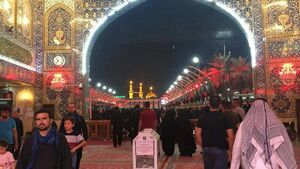 عکس/ تکذیب بسته شدن درهای حرمین شریف کربلا