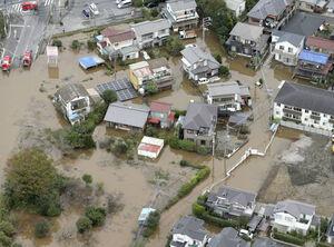 سیل در شرق ژاپن