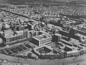 قدیمیترین عکس هوایی از حرم امام رضا (ع)