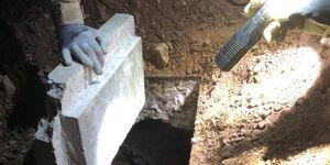 عکس/ کشف تونل زیرزمینی در مرز آمریکا-مکزیک
