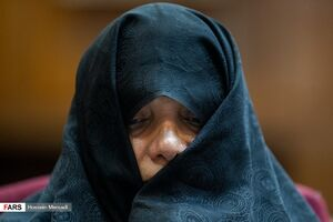 عکس/ آخرین جلسه دادگاه« شبنم نعمتزاده»