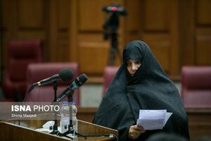 آخرین جلسه دادگاه« شبنم نعمتزاده»