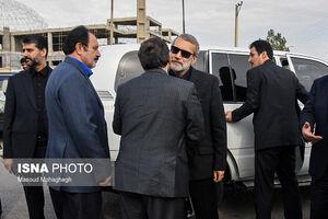 عکس/ خودروی لاریجانی در سفر به سمنان