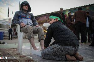 "عکس/ زوار نوجوان""امام مهربانیها"""