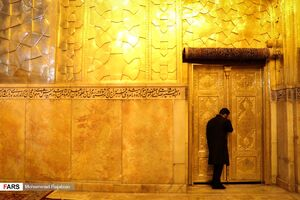 عکس/ شام غریبان شهادت امام رضا(ع) در حرم مطهر رضوی