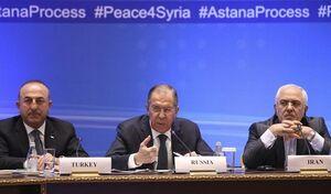 برگزاری نشست سه جانبه وزرای خارجه عضو روند آستانه در ژنو