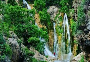 آبشار زیبا در خوزستان