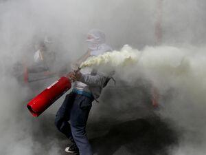 ادامه تظاهرات در شیلی