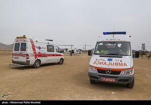 واژگونی مینیبوس حامل دانشآموزان با ۱۰ مجروح