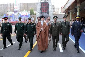 عکس/ حضور رهبرانقلاب در دانشگاه افسری ارتش