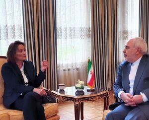 دیدار ظریف با قائم مقام وزارت امور خارجه سوئیس