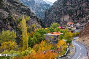 عکس/ سمفونی پاییز در روستاهای تهران