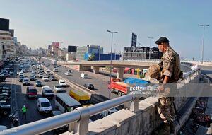 ارتش لبنان در روز چهاردهم اعتراضات همه مسیرهای اصلی را باز کرد +نقشه
