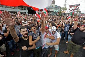 فیلم/ تظاهرات در بیروت در حمایت از میشل عون