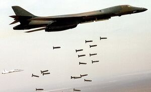 فیلم/ رکورد جدید آمریکاییها در پرتاب بمب