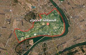 سقوط گلوله خمپاره در منطقه امنیتی پایتخت عراق