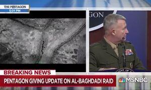 آمریکا فیلم عملیات ادعایی کشتن البغدادی را منتشر کرد +فیلم