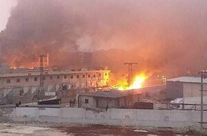 انفجار در عفرین سوریه با ۹ کشته