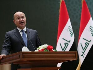 مخالفت ائتلاف العبادی با استعفای «برهم صالح»
