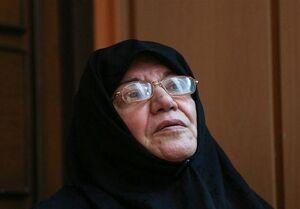 عکس/ تصویری از اعظم طالقانی در زندان ساواک