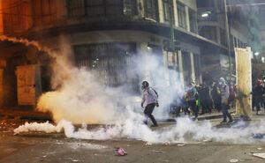 ادامه اعتراضات به نتیجه انتخابات در بولیوی
