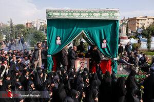 تشییع پیکر شهید مدافع حرم حامد سلطانی